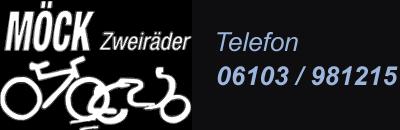 Zweirad Möck – Dreieich Logo